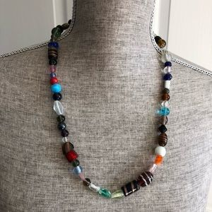 Handmade Multi-Color Beaded Necklace